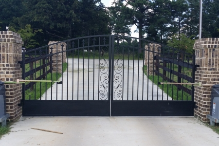 Custom residential entry