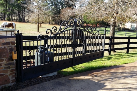 Custom gate entry